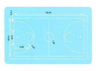 小学篮球场地平面图图片 篮球场地尺寸平面图,新篮球场地画