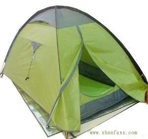 双人双层户外帐篷