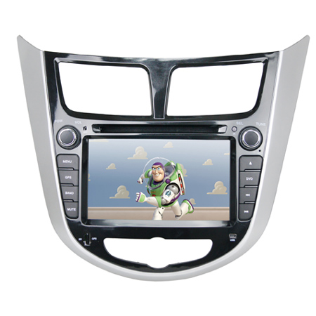 dvd导航现代瑞纳专用的车载dvd导航