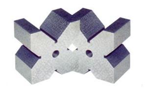 供应钢件V型槽架 磁性V型架 v型架 II型V型架-泊头恒迅量具专业生产
