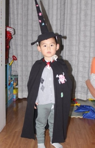 万圣节那些新奇的儿童服装 万圣之夜的Trick之星