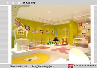 床上用品店装修效果图,户外用品店装修效果图,儿童用品店装高清图片