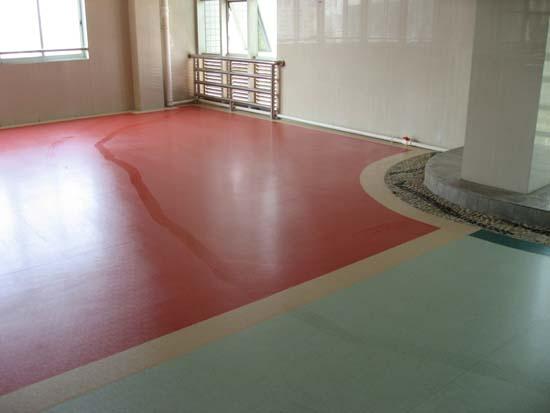乒乓球室PVC运动地板