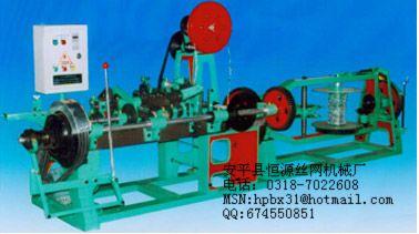 供应恒源机械HY刺绳机 双股刺绳机 单股刺绳机 正反拧刺绳机