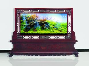 三元及第红木系列屏风