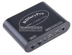可解密高清HDMI HDMI转VGA转换器