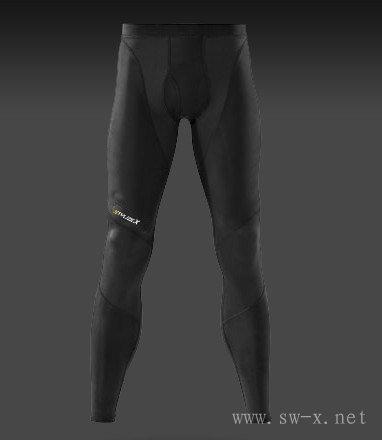 供应男子高尔夫系列压缩长裤,运动紧身衣