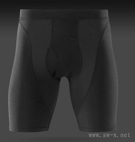 供应男子高尔夫压缩短裤,运动紧身衣