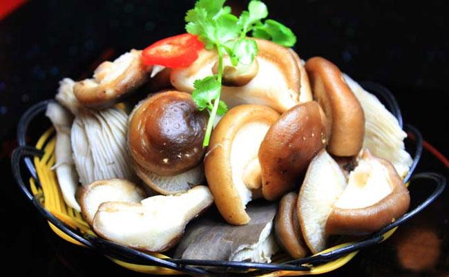 香菇拼平菇