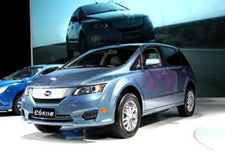 纯电动汽车 换电模式 是未来主流高清图片