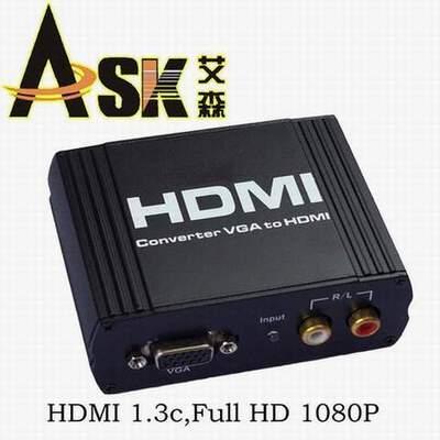 HDMI转换器     VGA转HDMI