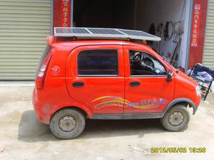 双环汽车首款太阳能汽车小贵族面世-聚焦   太阳能电动汽车_高清图片