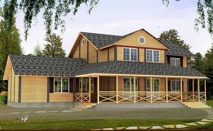 万林木屋的设计施工项目遍布河南