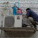 供应罗湖红岗花园空调拆装维修/加雪种/清洗保养